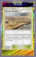 Terrain Dévoré - SL4:Invasion Carmin - 93/111 - Carte Pokemon Neuve Française