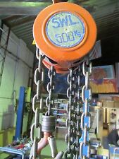 PWB ANCHOR - MINI CHAIN BLOCK WITH 1 METER CROSSBEAM