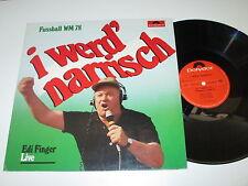 LP/EDI FINGER I WERD NARRISCH/KRANKL/SCHACHNER/LIVE/Polydor 38216