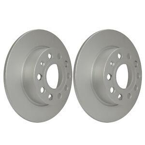 Rear Brake Discs 255mm 54209PRO fits VW JETTA 162, 163, Mk4 2.0 TDI