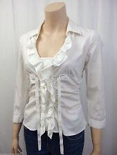 Figurbetonte Damenblusen,-Tops & -Shirts im Tuniken-Stil ohne Muster für Freizeit