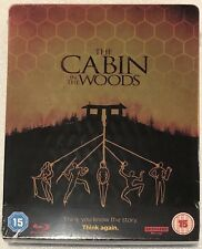 The Cabin In The Woods 4K Ultra HD Steelbook - UK Exclusive Ltd Edition Blu-Ray