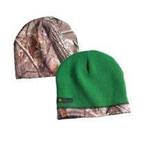 JOHN DEERE *REALTREE XTRA CAMO* GREEN REVERSIBLE Logo BEANIE STOCKING CAP *NEW*