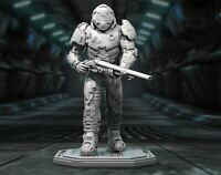 DOOM GUY Custom Resin Model Kit GK Figure Statue 1/10 200mm