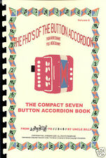 CHILDS  BUTTON ACCORDION BOOK,  FUN  NURSERY RHYMES & SONGS,  PLAY BY #S, VOL 6