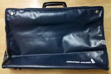 Mega Rare Vintage Singapore Airlines SIA Travel Foldable Briefcase Bag (A716)