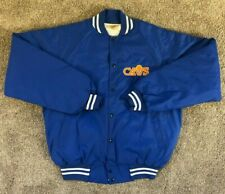 80s Vintage Cleveland Cavaliers Satin Jacket Made in USA - Size Medium