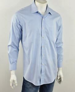 BROOKS BROTHERS Light Blue EXTRA SLIM FIT Non-Iron Supima Cotton Shirt 17/ 33
