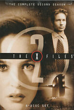 The X-FILES SEASON 2 NEW but UNSEALED 6-Disc Set Region 1