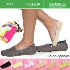 Women Lady Girls Bamboo Non-slip Heel Grip Low Cut No Show Boat Socks Invisible