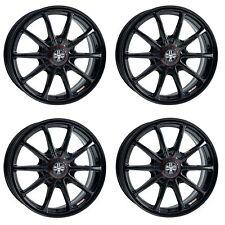 "4x Wolfrace Pro-Lite Eco 2.0 Gloss Black Alloy Wheels - 4x100   18x8""   ET50"