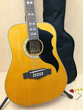 Eko Ranger XII VR Natural 12-String Acoustic Guitar,Adjustable Saddle - 06217119