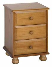 Pine 61cm-65cm Bedside Tables & Cabinets with Cupboard