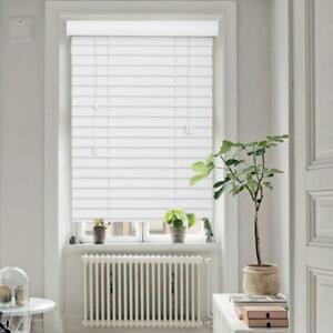 Venetian Blinds 50mm PVC Slats Window Blinds Privacy Shade Home Furnishings