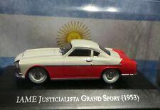 1953 IAME Argentino President Peron Car Justicialista grand sport 1/43