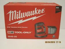 Milwaukee 2648-20 M18 Random Orbit Sander (TOOL-ONLY) FREE SHIP NEW SEALED BOX!