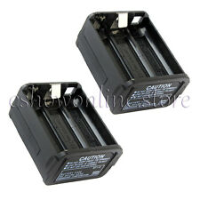 2x BT-8 AAX6 Radio batterie cas couvrir pour Kenwood Radio TH-28 TH-48 TH-78HT