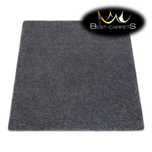 Amazing Modern Rug SUPREME Shaggy 5cm, square, single-colour, GREY Best Quality