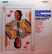HENRY MANCINI Mancini Plays Mancini LP