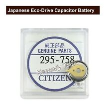 Citzen Capacitor Battery 295.758  295-7580 Eco-Drive CTL920, E310, E690M, G920