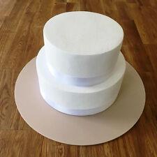 Round Cake Board - Latte