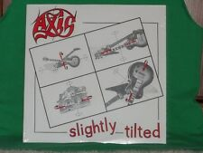 """AXIS-""""Slightly Tilted""""/SEALED original 1985 heavy metal private pressing/Ohio LP"""