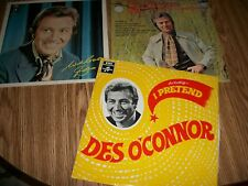 DES O'CONNOR - SET OF 3 LP'S - ALL 3 IMPORTS