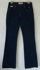 Womens BABY PHAT Dark Blue Jeans mid Rise Boot Leg Stretch Style ESTILO Size 7