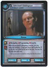 Star Trek CCG FOIL 0D6 Michael Eddington, Loyal Leader