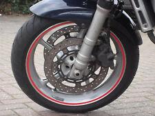 MOTORCYCLES CAR WHEEL RIM TAPE  TRIM  7mm OR 10mm 18 strips MADE TO ORDER IN UK