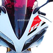 Yamaha R1 2007-2008 aufkleber zweifarbig für windschutzscheibe