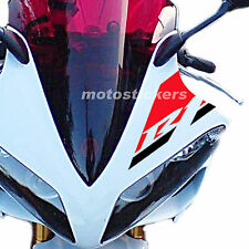 Yamaha R1 2007-2008 adhesivo bicolor para parabrisas