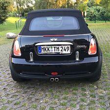 Mini Cooper S Cabrio, schwarz, 170 PS, 64 Tsd km - Schwarze Felgen -Sonderpreis