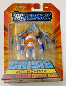 DC Universe Infinite Heroes Anti-Monitor Crisis Figure SDCC Exclusive 2009 NEW!