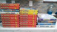 Pokemon VHS Collection lot - RARE OOP anime cartoon