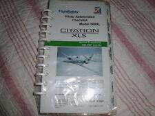 FS Cessna Pilots Abbreviated Checklist Model 560XL Citation XLS/560-5501&On-MIOP
