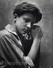 1952/88 Vintage MALE BOY YOUNG MAN Portrait Italian Italy Photo Art HERBERT LIST