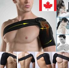 Professional Neoprene Shoulder Brace Support with Pressure Pad Belt For Sports
