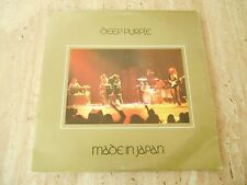 "DOUBLE LP ""MADE IN JAPAN"" DEEP PURPLE WB 1973 NO BARCODE"