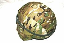 NEW ORIGINAL US ARMY MSA ACH MICH COMBAT HELMET WITH MULTICAM COVER - LARGE
