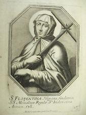 Santa Florencia Cartagena Michiel VAN LOCHOM siglo XVII d de la duquesa'