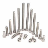 M8(8mmØ) A2 Stainless Steel DIN912 Hex Bolts Socket Cap Screws Hex Socket Head