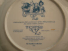 The Wizard of Oz 50th Anniversary Collector Plate Hamilton #2526P-Pre-Owned