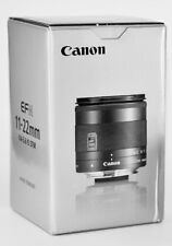 New Boxed Canon EF-M 11-22mm F4-5.6 IS STM Lens