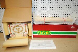 LGB 4160-DG Wilson Bros. Circus Yellow Flat Car w/Band Wagon *G-Scale* NEW