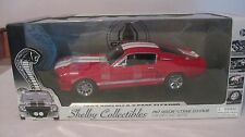 1967 Shelby G.T. 500E Eleanor Red 118 Scale Diecast By Shelby Collectibles dc289