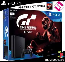 VIDEOCONSOLA SONY PS4 PLAYSTATION 4 1TB SLIM GRAN TURISMO GT SPORT PSVR GAMING