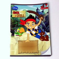 Jake and The Neverland Pirates - Handwriting exercise book, 16 page, checkered.