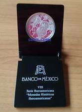 2010 MEXICO SILVER Serie Ibero $5 Pesos.Proof - Caballito