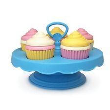Green Toys Cupcake Set Pretend Play Girl Toddler Kids Food Gift 16 Piece New